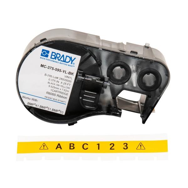 BRADY Band für BMP41/BMP51/BMP53 Etikettendrucker MC-375-595-YL-BK 139924