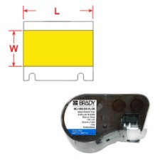 BRADY Band für BMP41/BMP51/BMP53 Etikettendrucker MC-750-595-YL-BK 143376