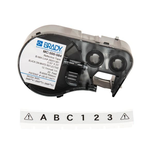 BRADY Etiketten für BMP41/BMP51/BMP53 Etikettendrucker MC-500-584 143403