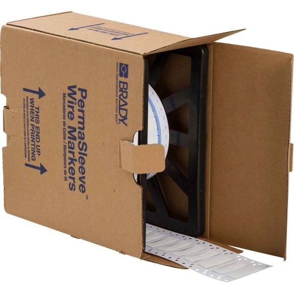 BRADY PermaSleeve Schrumpfschläuche zur Kabelkennzeichnung 3PS-375-2-WT-2 104715