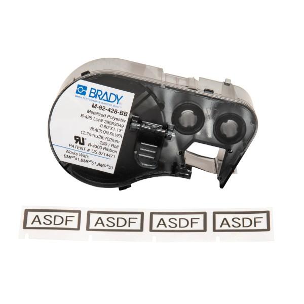 BRADY Etiketten für BMP41/BMP51/BMP53 Etikettendrucker M-92-428-BB 711206