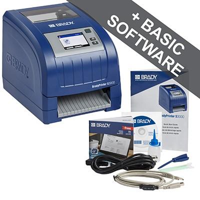 BradyPrinter S3000 Schilder- und Etikettendrucker, EU