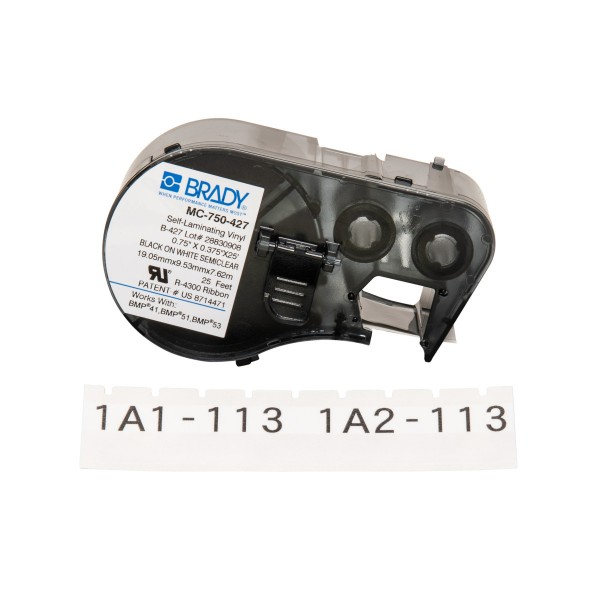 BRADY Etiketten für BMP41/BMP51/BMP53 Etikettendrucker MC-750-427 143251