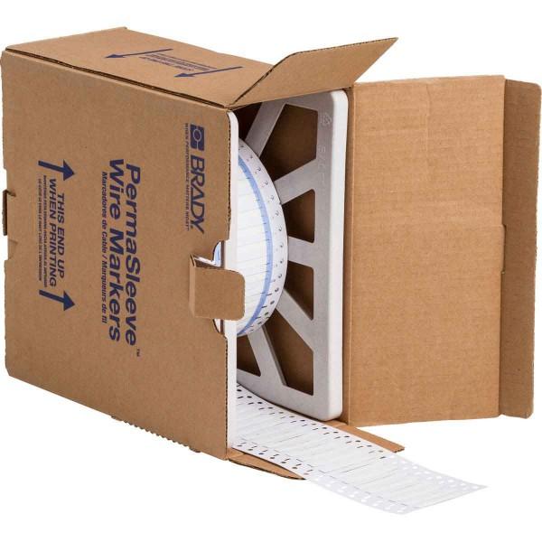 BRADY PermaSleeve Schrumpfschläuche zur Kabelkennzeichnung 3PS-125-2-WT-3 104712