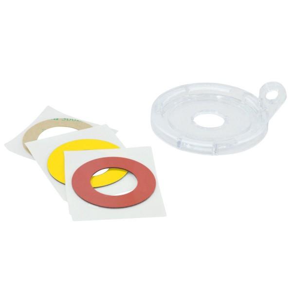 BRADY Basis für Sicherheitsabdeckungen für Drucktasten und Notausschalter (1 16MM PUSH BUTTON/E-STOP
