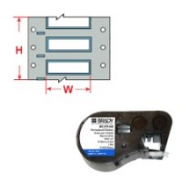 143224 - PermaSleeve Schrumpfschläuche zur Kabelkennzeichnung für BMP41/BMP51/BMP53 Etikettendrucker