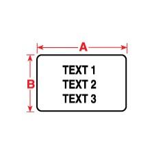 011240 - Polyesteretiketten für M611, BMP61 und BMP71