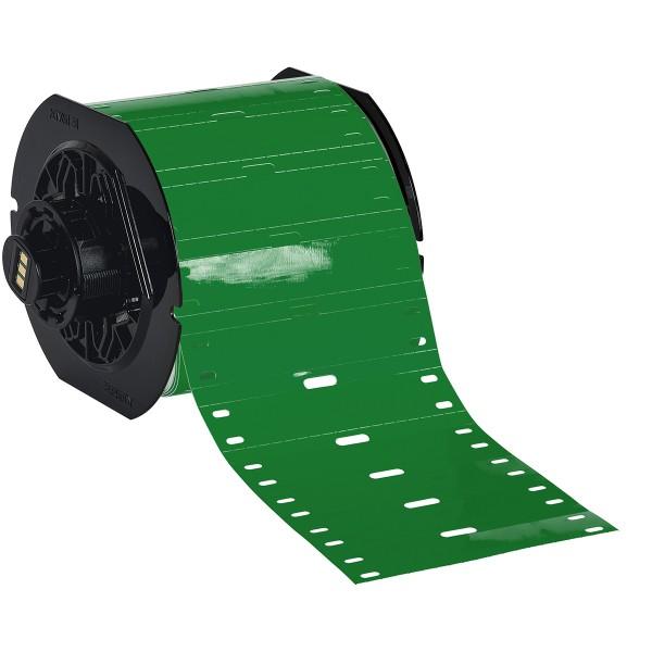 BRADY Polyester-Kabelanhänger für die Drucker BBP33/i3300 B33-75X15-7598-GN 197555