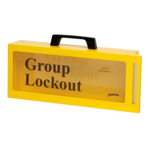 BRADY Gruppenverschlusskasten (tragbar oder zur Wandmontage) LG252M 46134