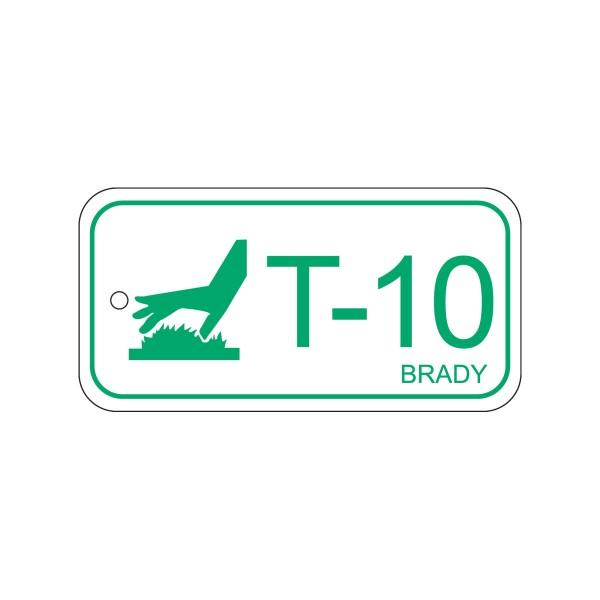 BRADY Anhänger für Energiequellen–Hohe Temperaturen ENERGY TAG-T-10-75X38MM-PP/25 138786