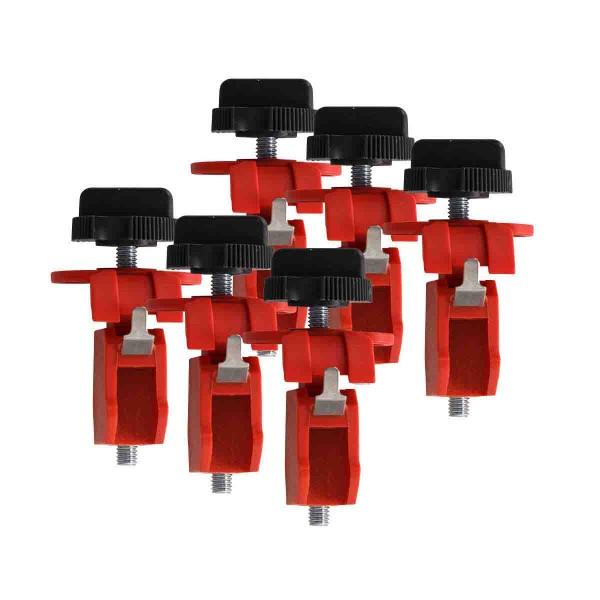 BRADY Miniatur-Verriegelungssystem für Schutzschalter, Typ TBLO ELEC. CIRCUIT BREAKER L/O EURO TB PK