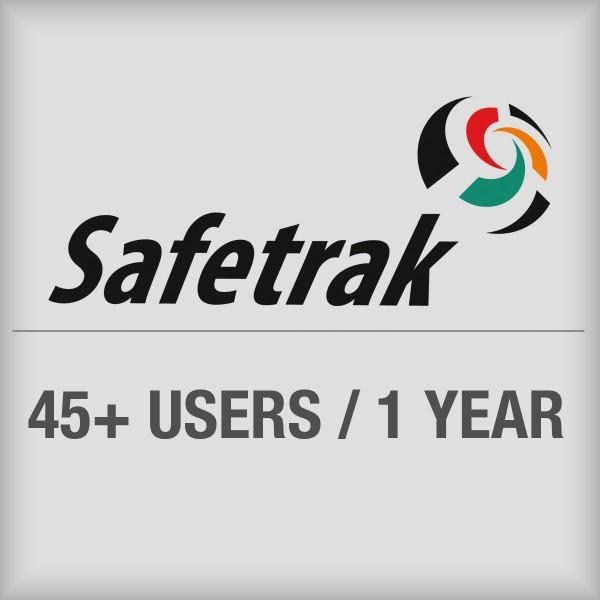 BRADY SafeTrak-Abonnement für den Zugriff auf das Cloudsystem für mehr als 4 SAF-SW-SUB45PLUS 197621