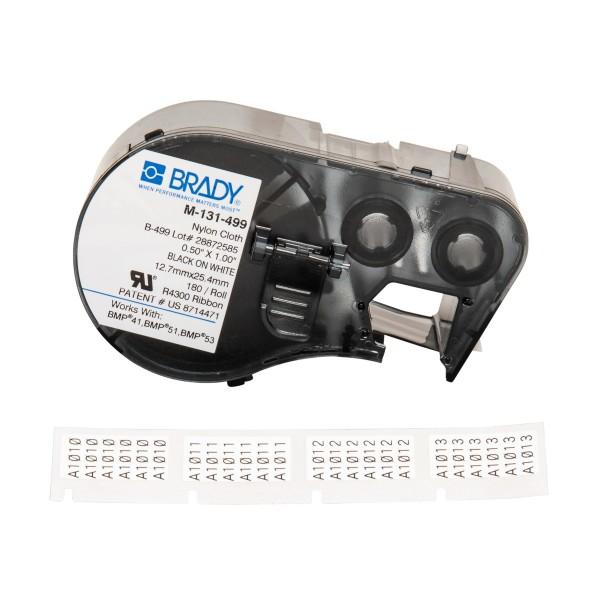 BRADY Etiketten für BMP41/BMP51/BMP53 Etikettendrucker M-131-499 143350