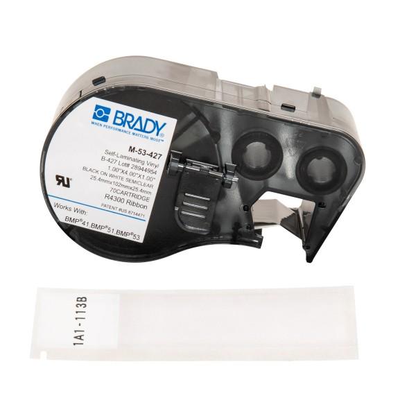 BRADY Etiketten für BMP41/BMP51/BMP53 Etikettendrucker M-53-427 131587