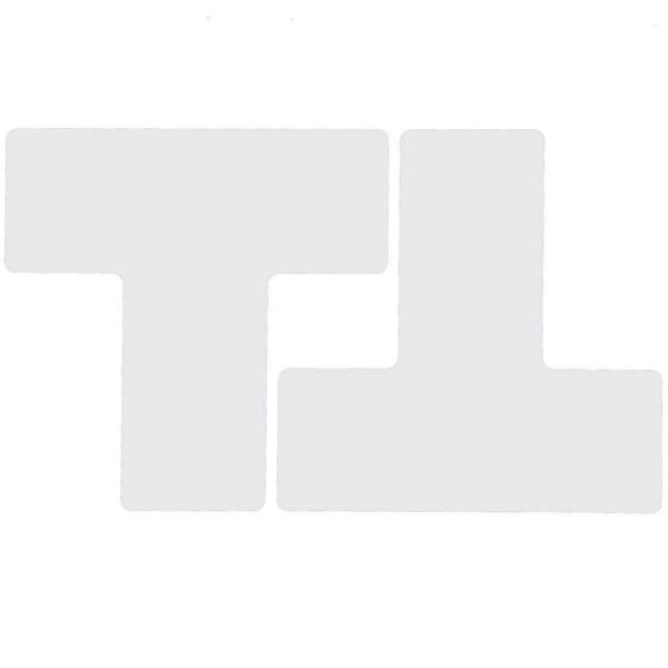 BRADY Eckemarkierung - Ts - 76,2mm x 203,2mm Weisse Toughstripe Floor Markin WHITE B-514 FLOOR TS 76