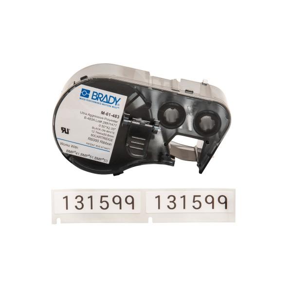 BRADY Etiketten für BMP41/BMP51/BMP53 Etikettendrucker M-61-483 143304