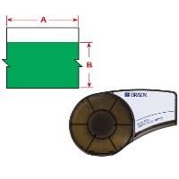 BRADY Vinylband für BMP21-PLUS, BMP21-LAB, BMP21, IDPAL, LABPAL M21-375-595-GN 142802