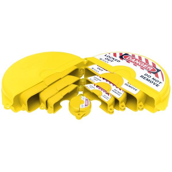 BRADY Absperr-Set für Durchgangsventile–gelb GVLO-SET-YL 196214