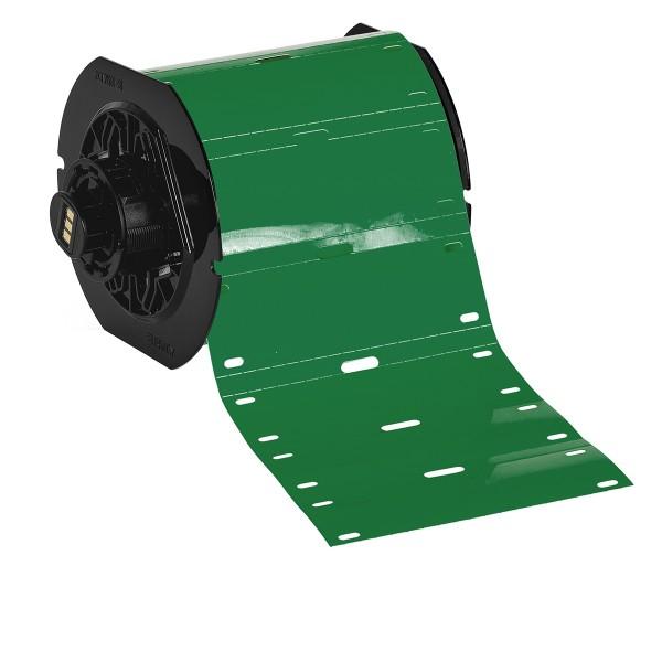 BRADY Polyester-Kabelanhänger für die Drucker BBP33/i3300 B33-75X25-7598-GN 197562