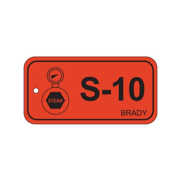 BRADY Anhänger für Energiequellen–Dampf ENERGY TAG-S-10-75X38MM-PP/25 138765
