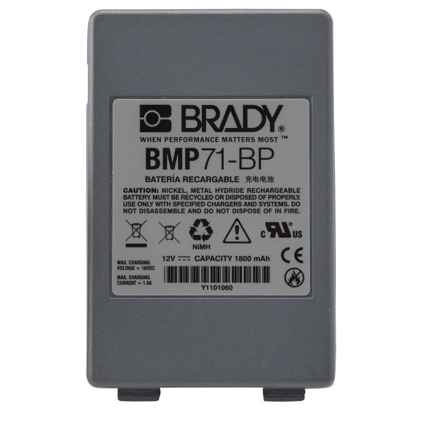 BRADY Ersatzbatterie M71-BATT 114885