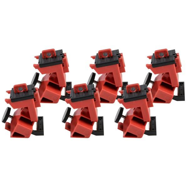 BRADY TagLock Schutzschalter-Verriegelung: 480/600V Klemmverriegelung–25/P TAGLOCK 480/600V CLAMP-
