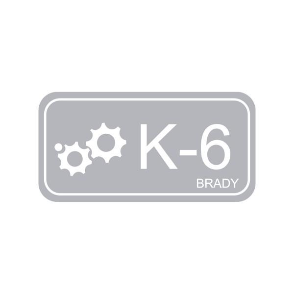 BRADY Anhänger für Energiequellen–Kinetik ENERGY TAG-K-6-75X38MM-PP/25 138775