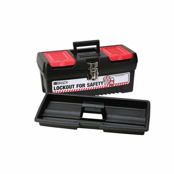 BRADY Mittelgroßer Lockout-Werkzeugkasten LOCKOUT FOR SAFETY TOOL BOX-MEDIUM 105906