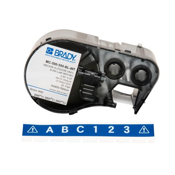 BRADY Band für BMP41/BMP51/BMP53 Etikettendrucker MC-500-595-BL-WT 143387