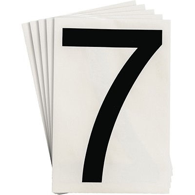 121889 - Vorgestanzte ToughStripe Zahlen und Buchstaben