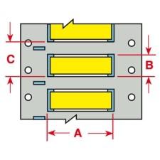 BRADY PermaSleeve Schrumpfschläuche aus Polyolefin für die Drucker BBP33/i33 B33-500-2-342YL-2 13388