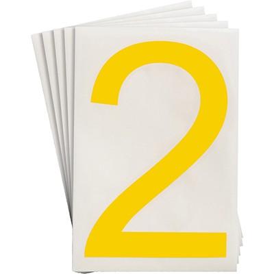 121864 - Vorgestanzte ToughStripe Zahlen und Buchstaben