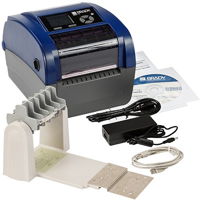 Brady 198595 - BBP12Etikettendrucker, 300dpi EU, mit Rollenhalter und Brady Workstation-Suite fü