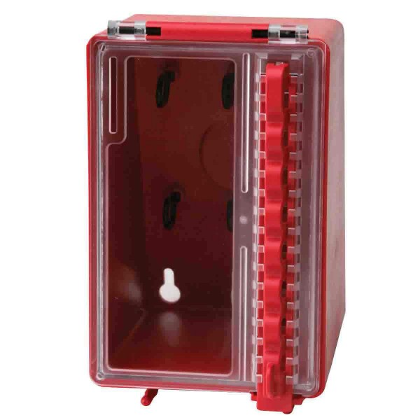 BRADY Mini-Verschlusskasten zur Wandmontage WALL MOUNTED PLASTIC LOCK BOX 50938