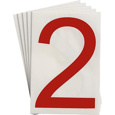 121861 - Vorgestanzte ToughStripe Zahlen und Buchstaben
