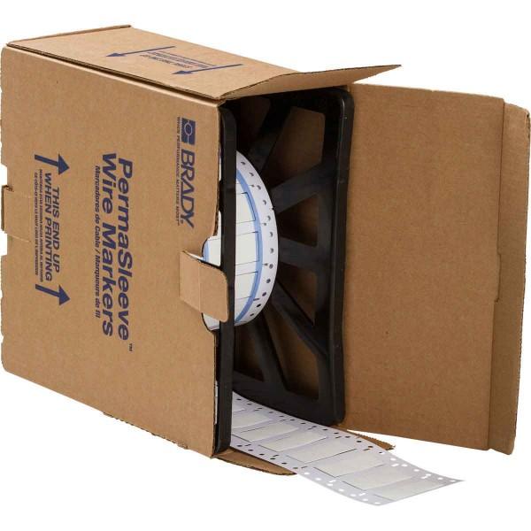 BRADY PermaSleeve Schrumpfschläuche zur Kabelkennzeichnung 3PS-500-2-WT-2 104695