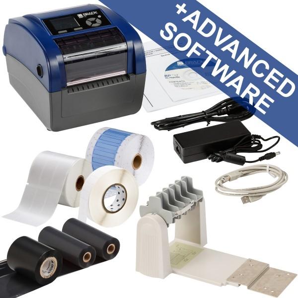 BRADY BBP12Etikettendrucker, 300dpi–Set für die Anwendung im elektrische BBP12-ELEC KIT-US 19859