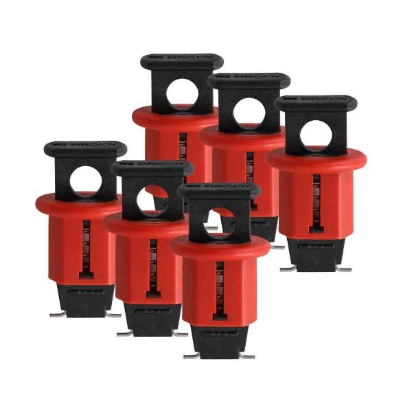 BRADY Miniatur-Verriegelungssystem für Schutzschalter, Typ POS ELEC. CIRCUIT BREAKER L/O EURO POS. P
