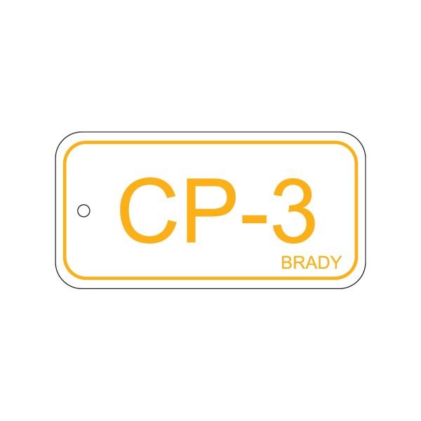 BRADY Anhänger für Energiequellen–Bedienfeld ENERGY TAG-CP-3-75X38MM-SAPP/25 138398