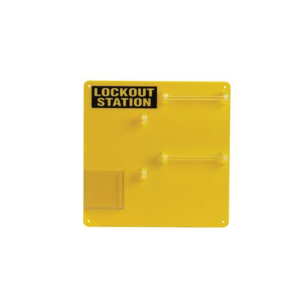 BRADY Lockout-Tafel - 10 Personen LOCKOUT STATION 10-LOCK BOARD 50990