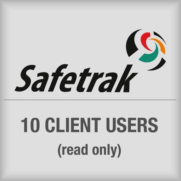 BRADY SafeTrak-Paket für 10Clientanwender (schreibgeschützt) SAF-CLT-SUB10 197623
