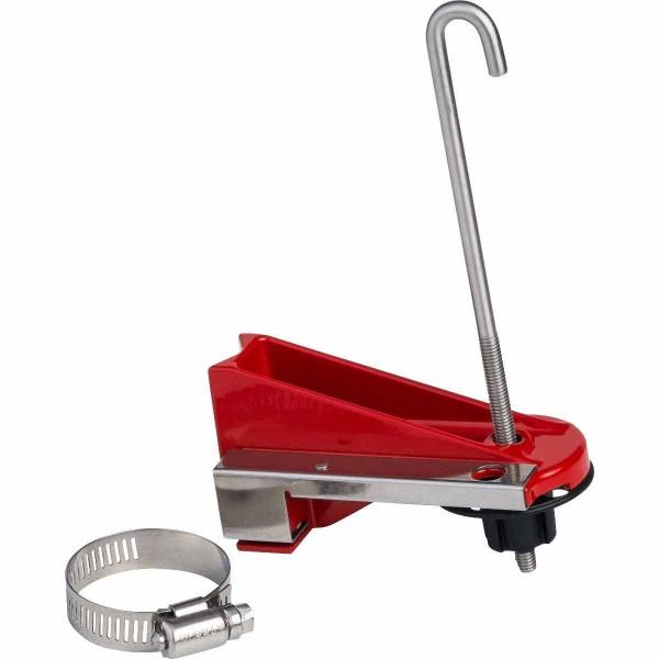 BRADY Perma-mount™ Lockout-Vorrichtung für Kugelventile, klein ASSY, PKGD, SMALL, BALL VALVE LOCKOUT