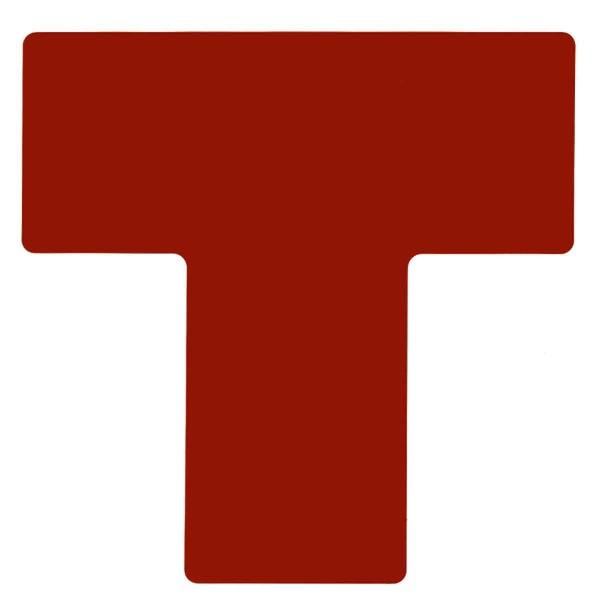 BRADY Eckemarkierung - Ts - 101,6mm x 254mm Rote Toughstripe Floor Marking P RED B-514FLOOR TS 101,6