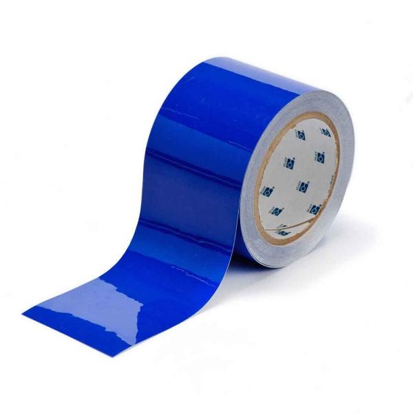 BRADY Bodenmarkierung - 76,2mm Blaue Toughstripe Polyester TOUG2 BLU 104344