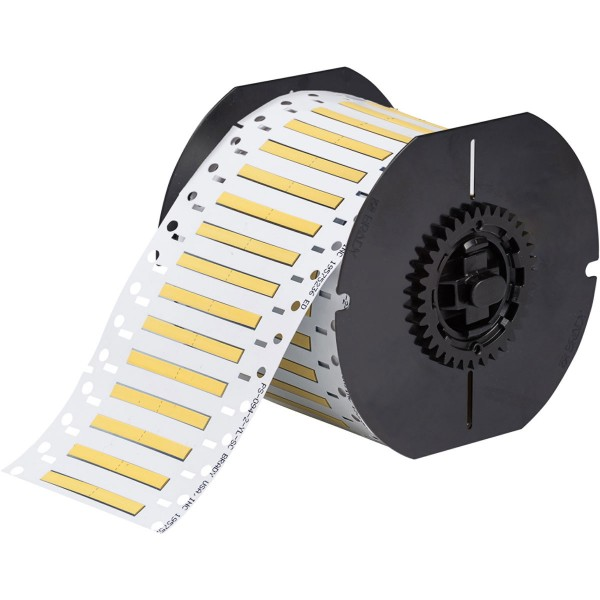 BRADY PermaSleeve Schrumpfschläuche aus Polyolefin für die Drucker BBP33/i33 B33-125-2-342YL-2 13378