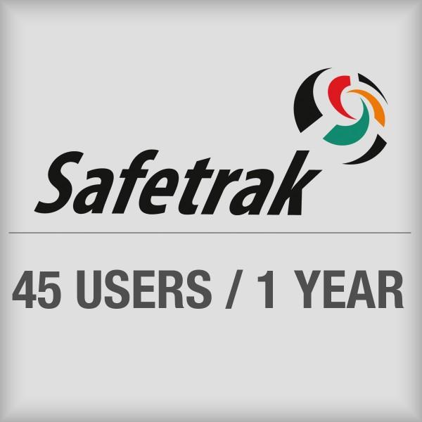 BRADY SafeTrak-Abonnement für den Zugriff auf das Cloudsystem für bis zu 45 SAF-SW-SUB45 197620